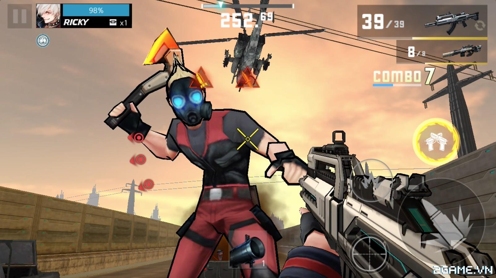Wanted Killer: Game mobile bắn súng phong cách game thùng đầy chất chơi 2