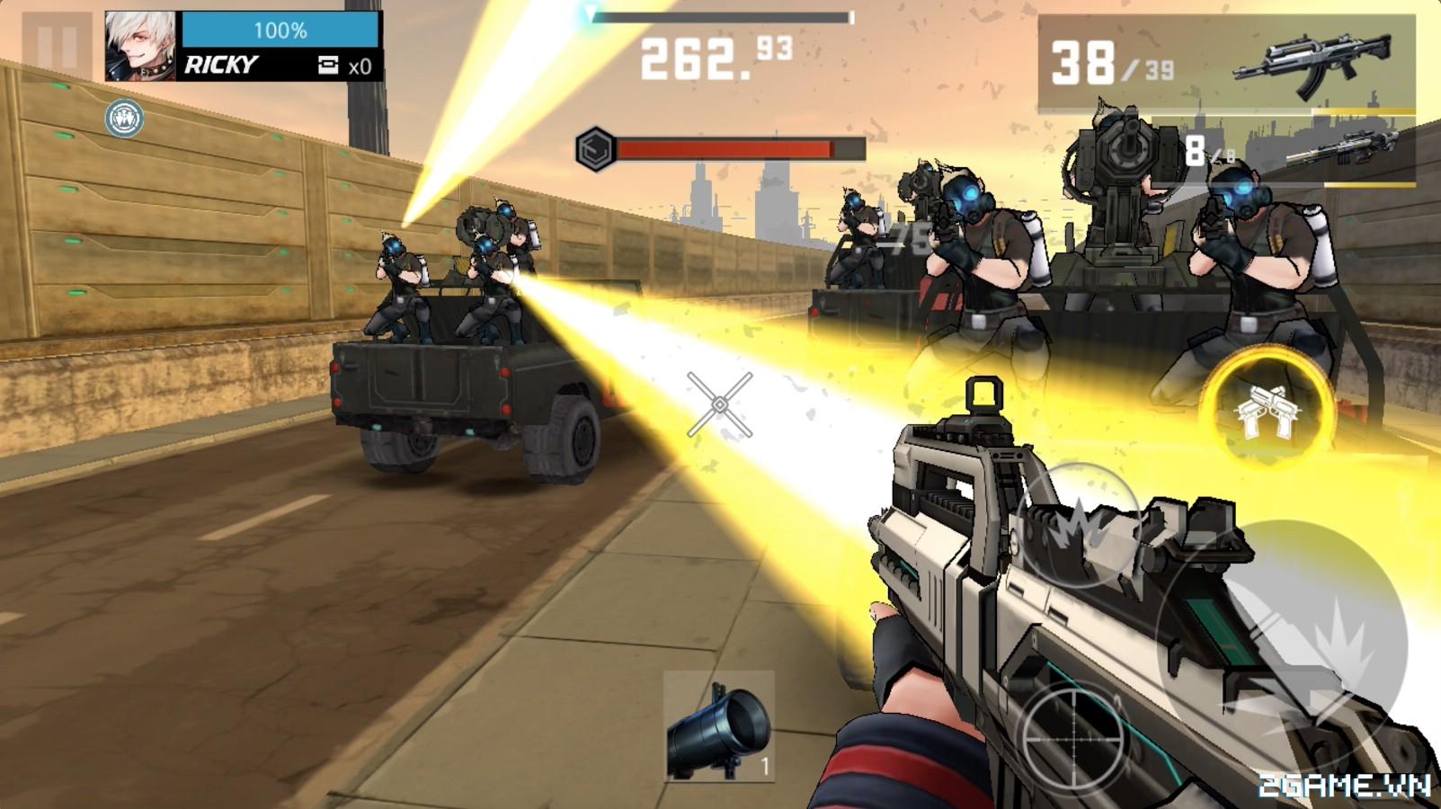 Wanted Killer: Game mobile bắn súng phong cách game thùng đầy chất chơi 3