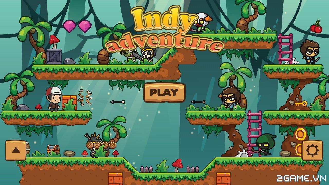 Indy Adventure – Game nhập vai đi cảnh kiểu Mario cho bạn trải nghiệm trên nền tảng di động 0