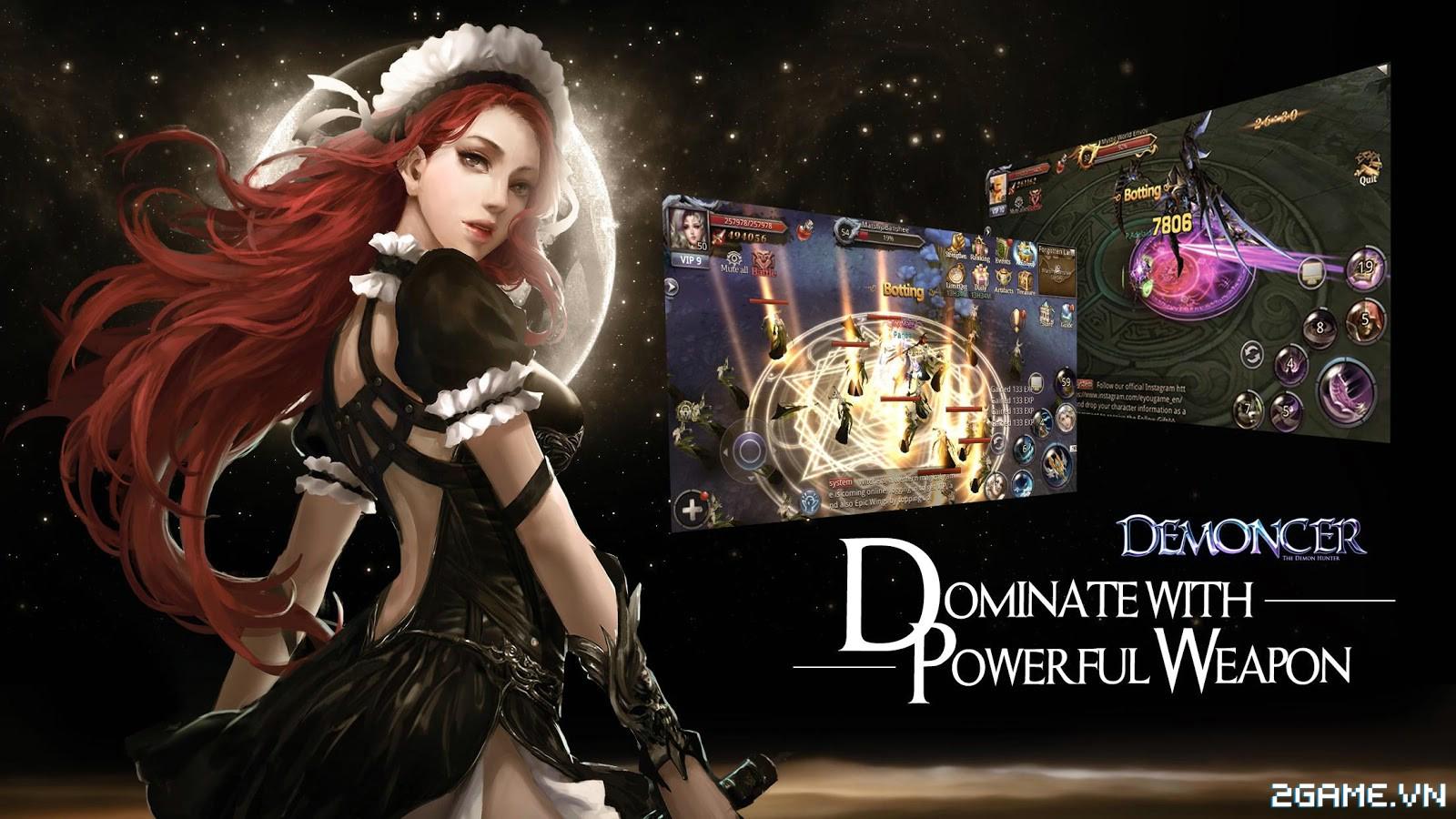 Demoncer: Game nhập vai đầy đủ tính năng dành cho dân ưa cày bừa 3
