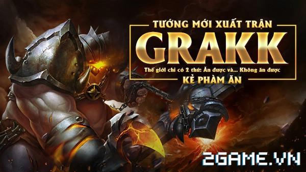 Liên Quân Mobile - Grakk: Vị tướng khó chơi hơn cả Murad 2
