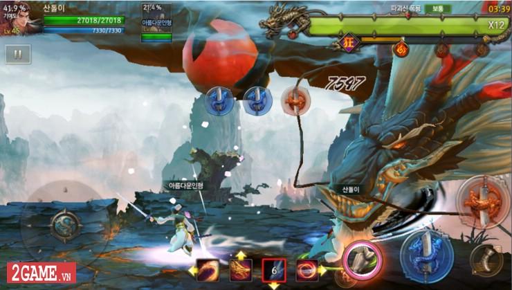Hiệp Khách Giang Hồ M - Game nhập vai đi cảnh màn hình ngang với cơ chế combo đầy sáng tạo 3
