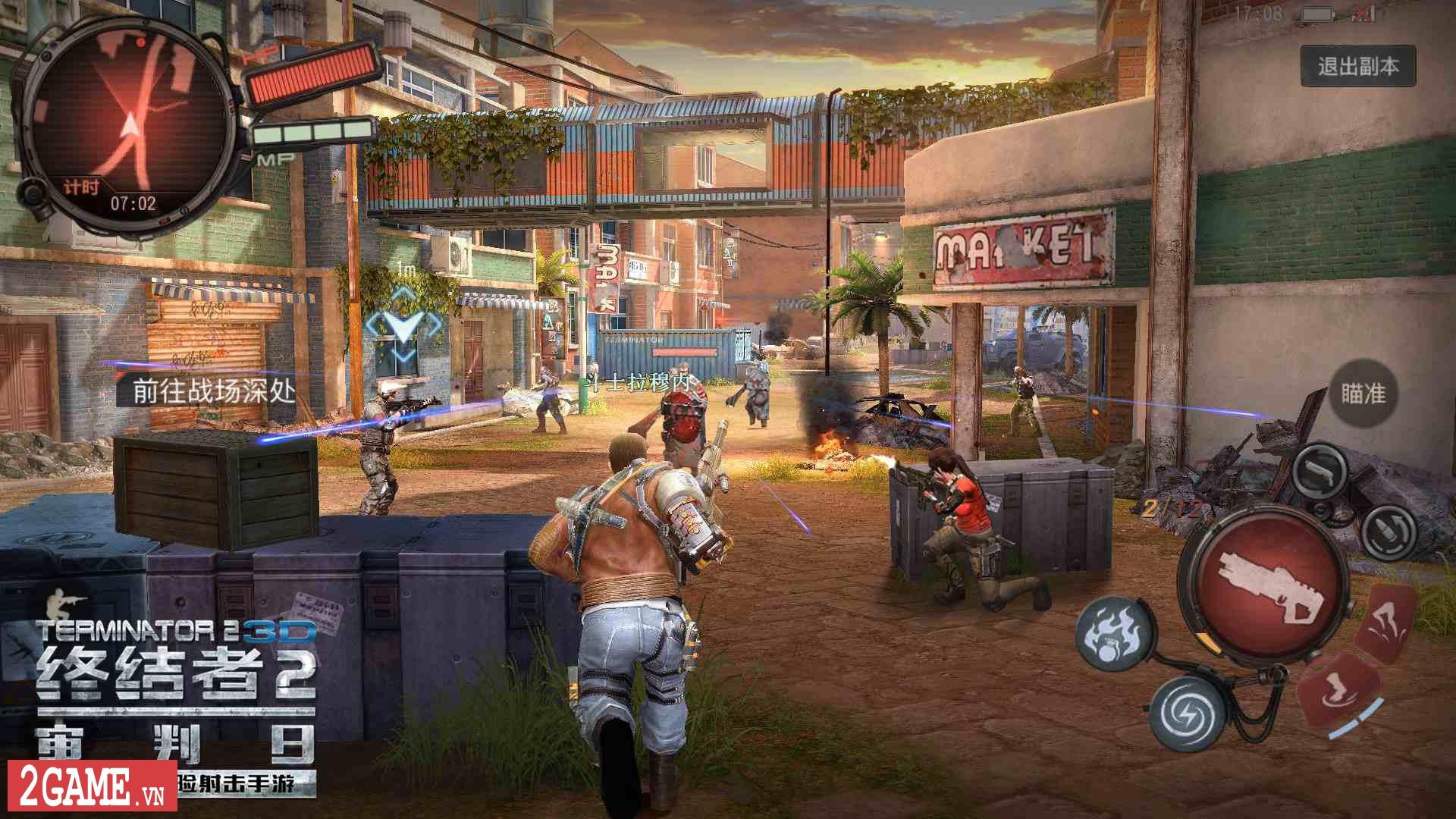 Kẻ Hủy Diệt 2 Mobile hé lộ chế độ chơi kiểu PlayerUnknown's Battlegrounds 10