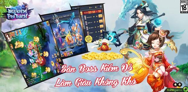 Ngự Kiếm Phi Thiên ra mắt trang chủ, định ngày mở game 2
