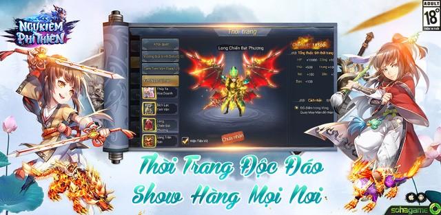 Ngự Kiếm Phi Thiên ra mắt trang chủ, định ngày mở game 3