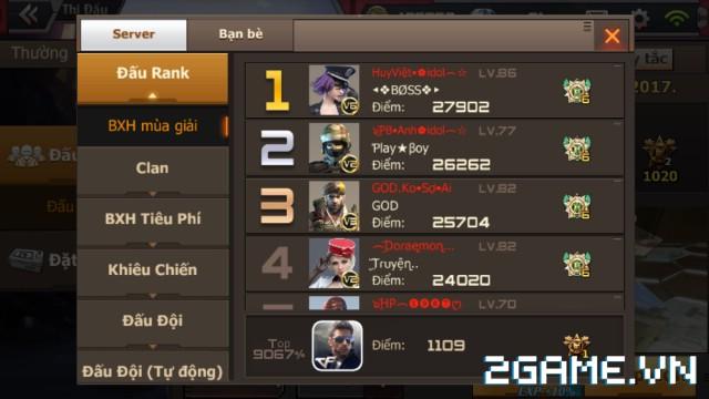 Crossfire Legends - Top bảng xếp hạng đấu rank giờ đã hơn 20000 điểm 0