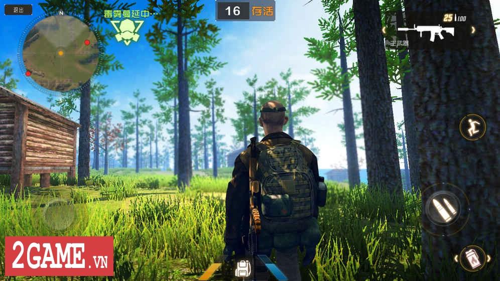 Luật Rừng Mobile – Game mệnh danh Playerunknown's Battleground của người Trung Quốc 1
