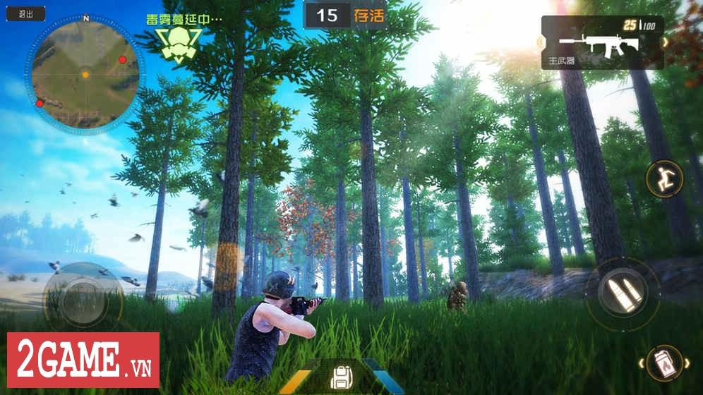 Luật Rừng Mobile – Game mệnh danh Playerunknown's Battleground của người Trung Quốc 2