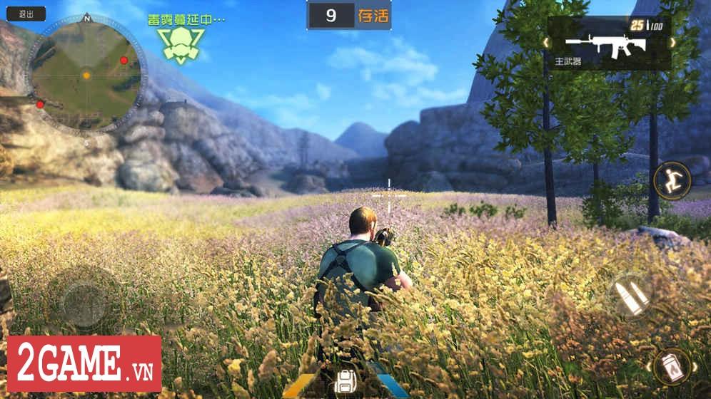 Luật Rừng Mobile – Game mệnh danh Playerunknown's Battleground của người Trung Quốc 3