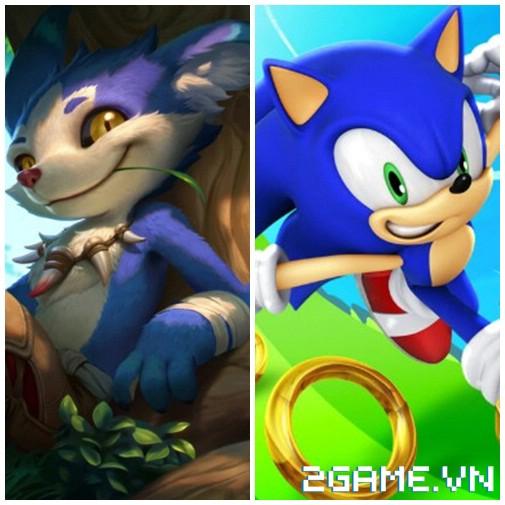 Liên Quân Mobile - Hóa ra nguyên mẫu của Cáo Siêu Thanh Fennik lại là Nhím Sonic 1