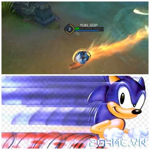 Liên Quân Mobile - Hóa ra nguyên mẫu của Cáo Siêu Thanh Fennik lại là Nhím Sonic 2