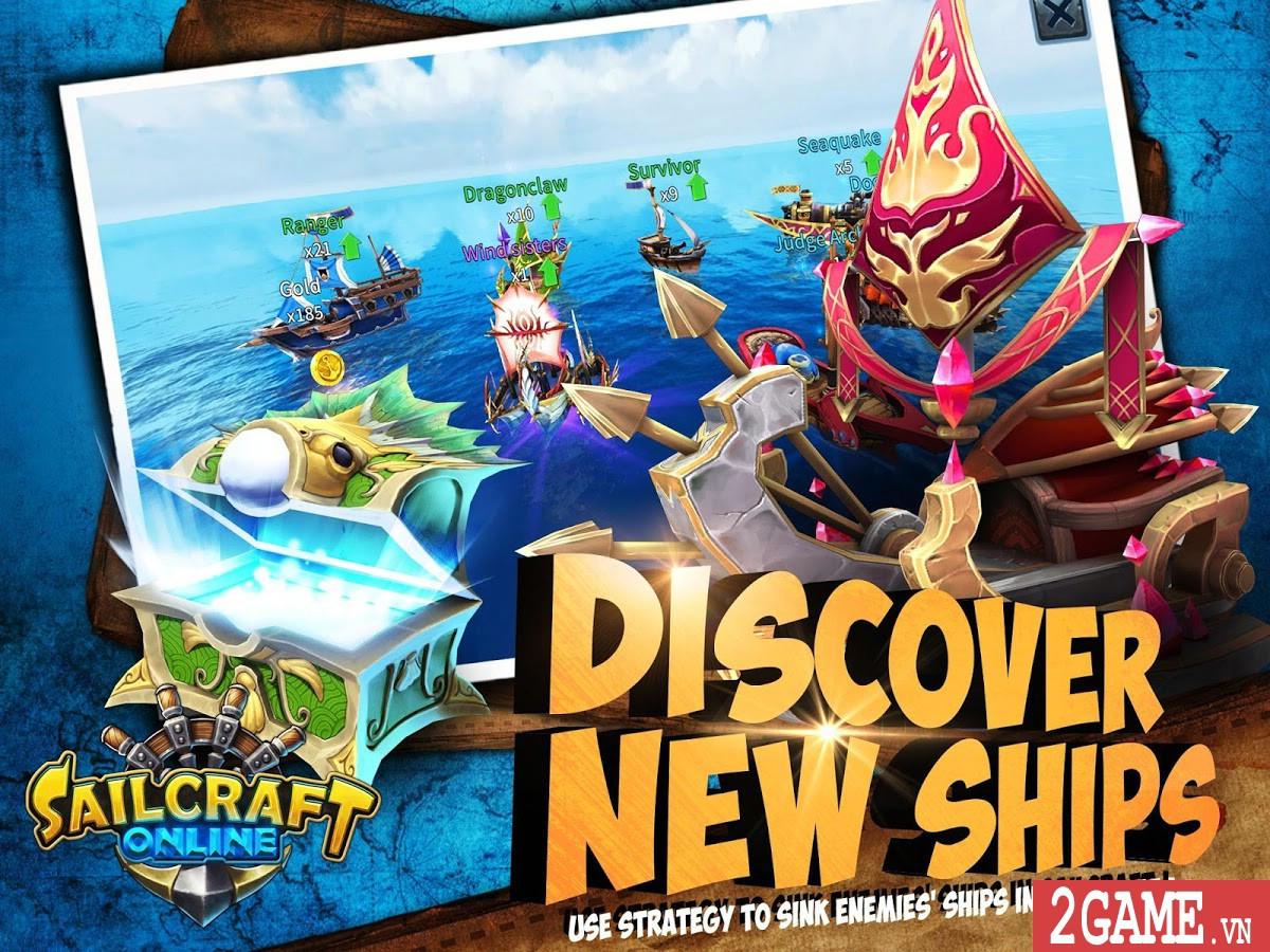 SailCraft – Game chiến thuật đánh theo lượt lấy đề tài Hải chiến 4