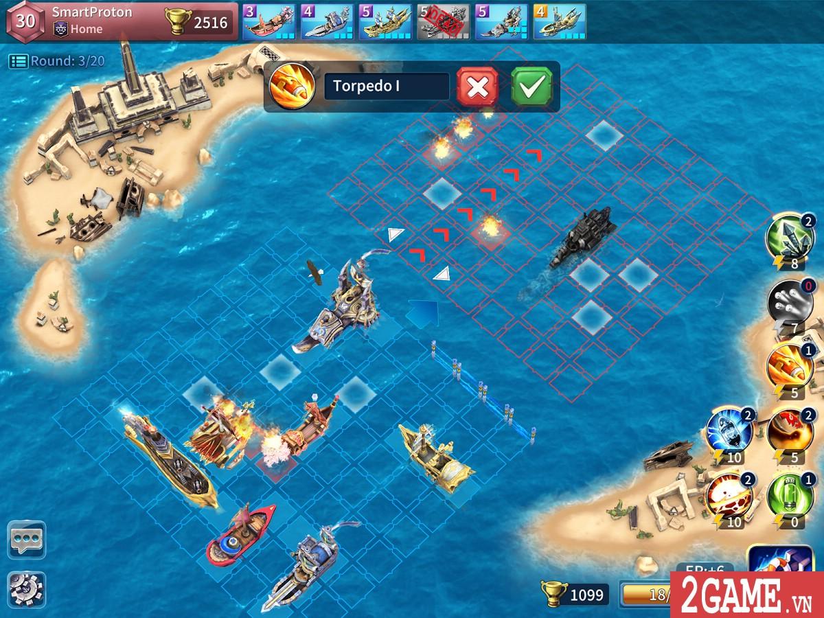 SailCraft – Game chiến thuật đánh theo lượt lấy đề tài Hải chiến 1
