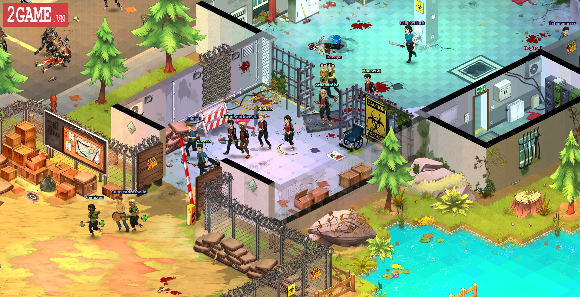 Dead Maze – Hé lộ dự án game nhập vai thế giới mở mới đầy đột phá 7