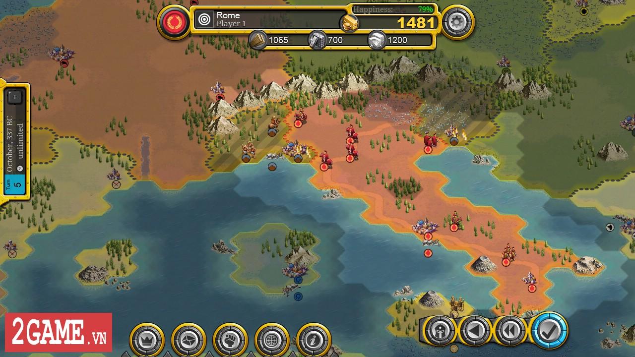 Demise of Nations - Bản game
