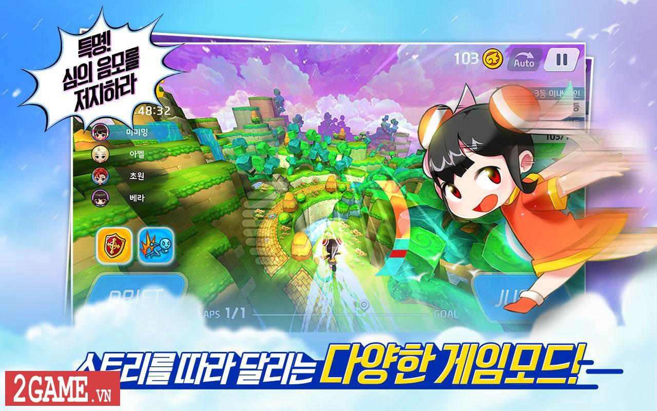 TalesRunner R - Game chạy đua siêu cấp trên PC nay đã có hậu bản mobile 1