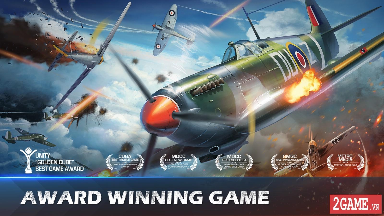 War Wings - Game bắn máy bay trực tuyến hay tuyệt cú mèo dành cho mobile game 0