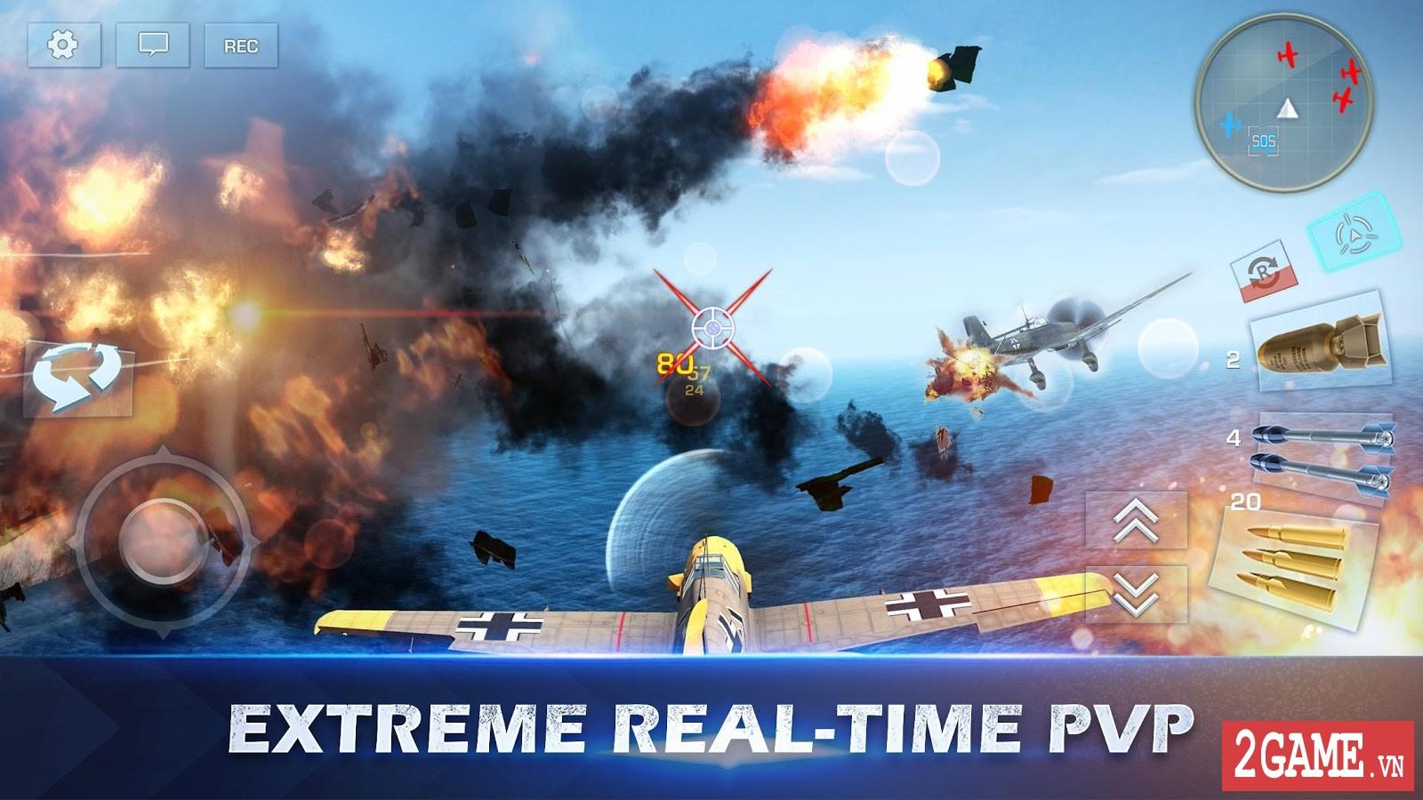 War Wings - Game bắn máy bay trực tuyến hay tuyệt cú mèo dành cho mobile game 5