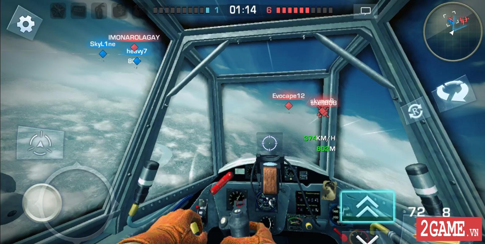 War Wings - Game bắn máy bay trực tuyến hay tuyệt cú mèo dành cho mobile game 10