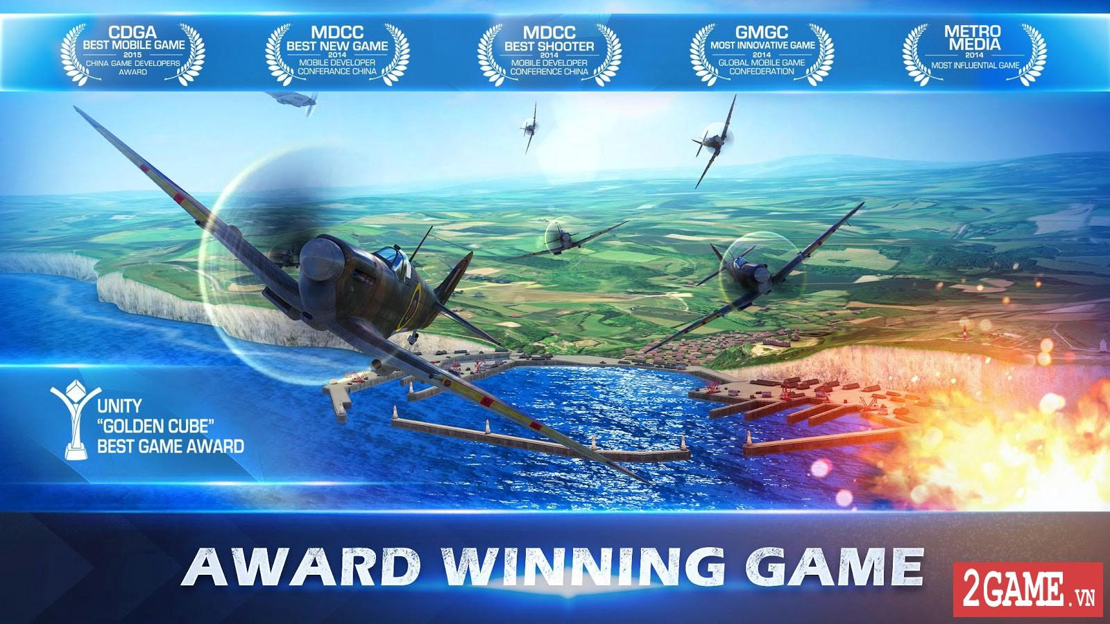 War Wings - Game bắn máy bay trực tuyến hay tuyệt cú mèo dành cho mobile game 1