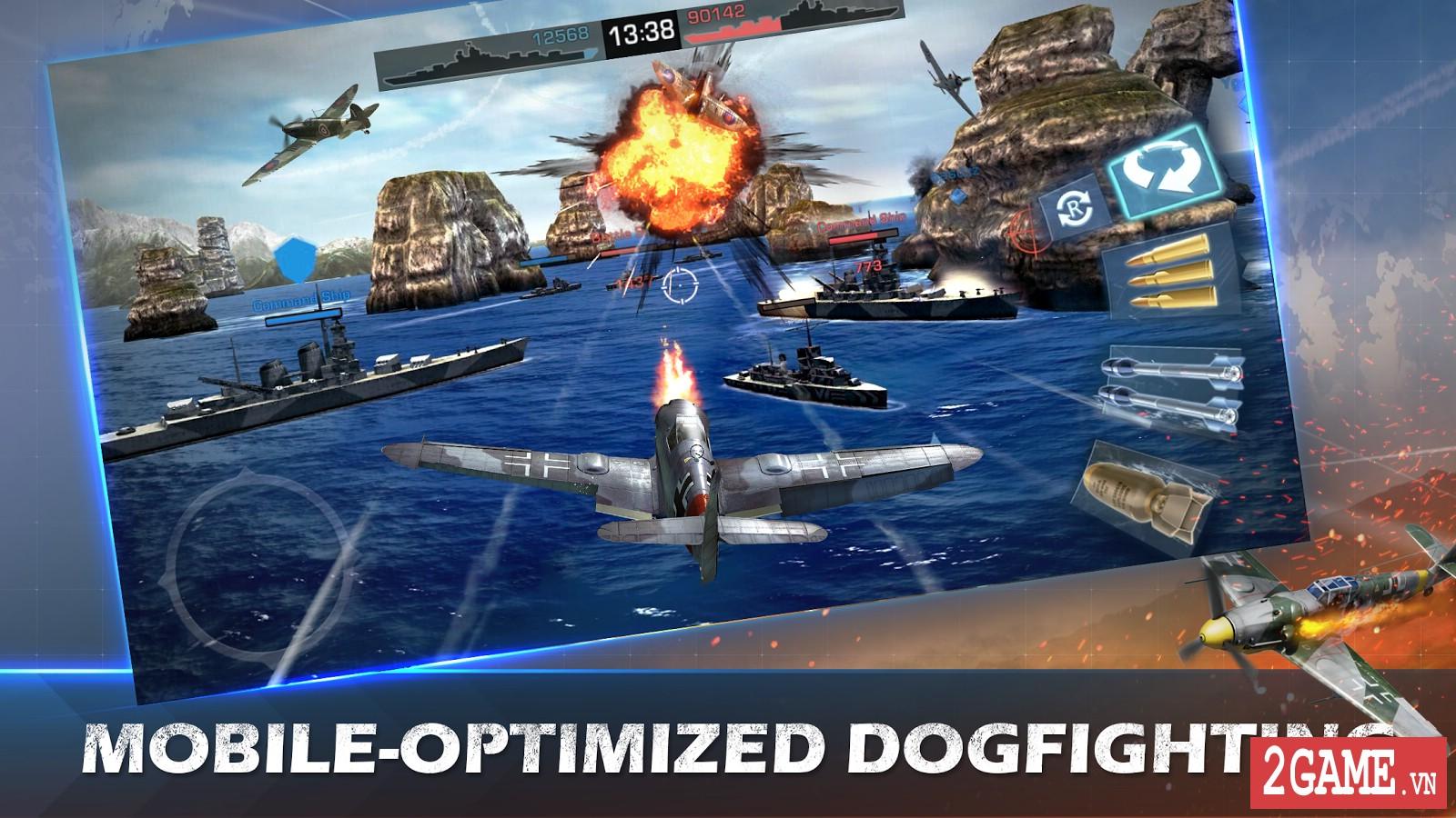 War Wings - Game bắn máy bay trực tuyến hay tuyệt cú mèo dành cho mobile game 2