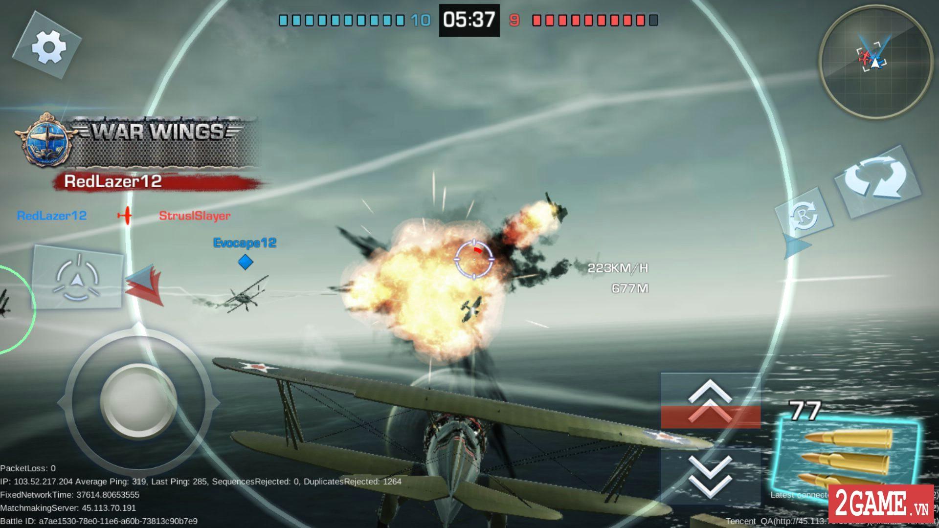 War Wings - Game bắn máy bay trực tuyến hay tuyệt cú mèo dành cho mobile game 6