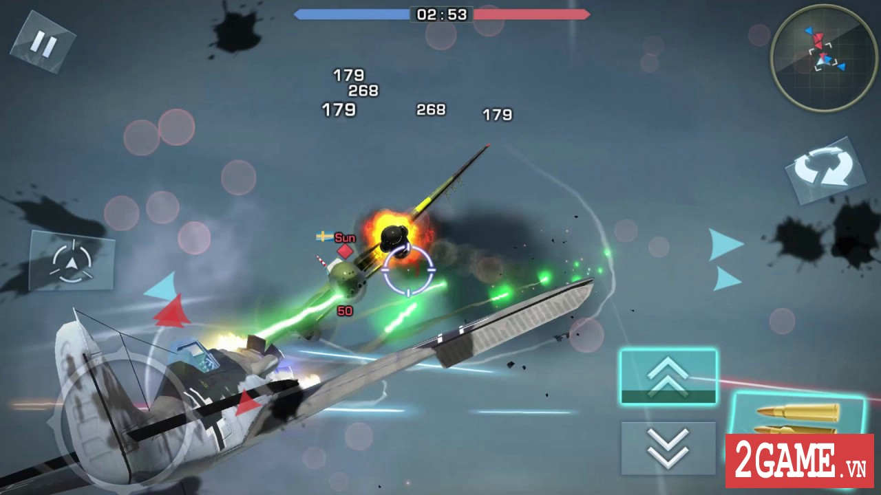 War Wings - Game bắn máy bay trực tuyến hay tuyệt cú mèo dành cho mobile game 8