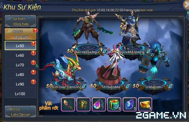 Ngự Kiếm Phi Thiên - Hệ thống Boss 1