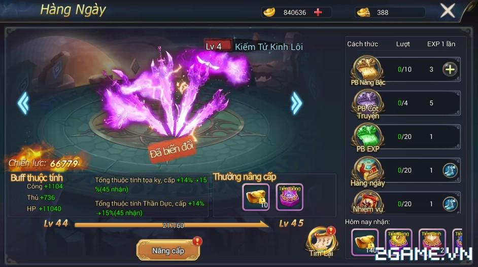 Ngự Kiếm Phi Thiên - Hệ thống kiếm dạ 1