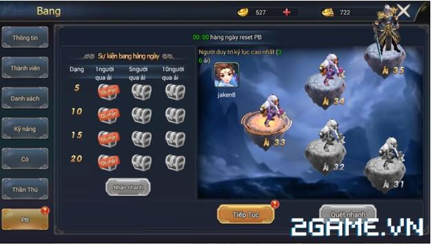 Ngự Kiếm Phi Thiên - Hệ thống bang hội 5