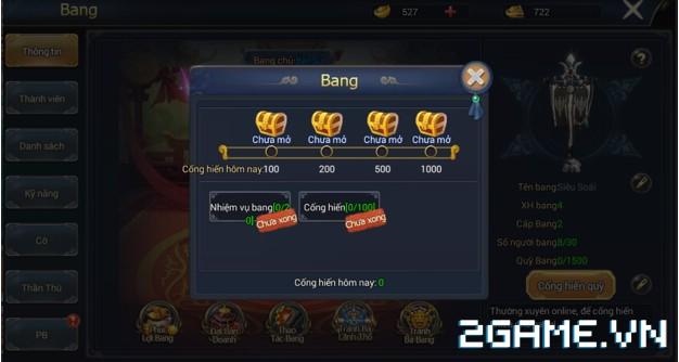 Ngự Kiếm Phi Thiên - Hệ thống bang hội 6