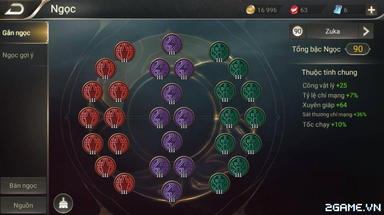 Liên Quân Mobile - Hướng dẫn sử dụng zuka bởi top 1 thách đấu ProA NamChin 0