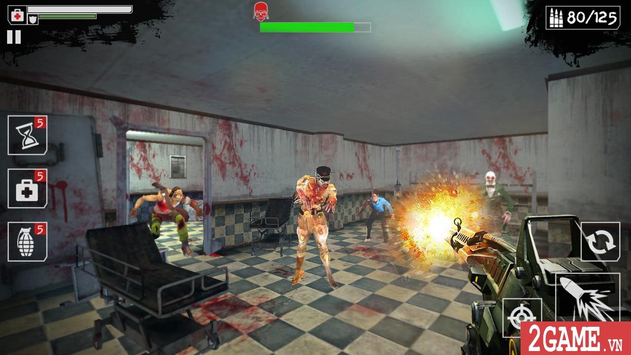 Dead Zombies – Game bắn thây cực kỳ kinh dị, nếu yếu tim đừng nên thử! 1