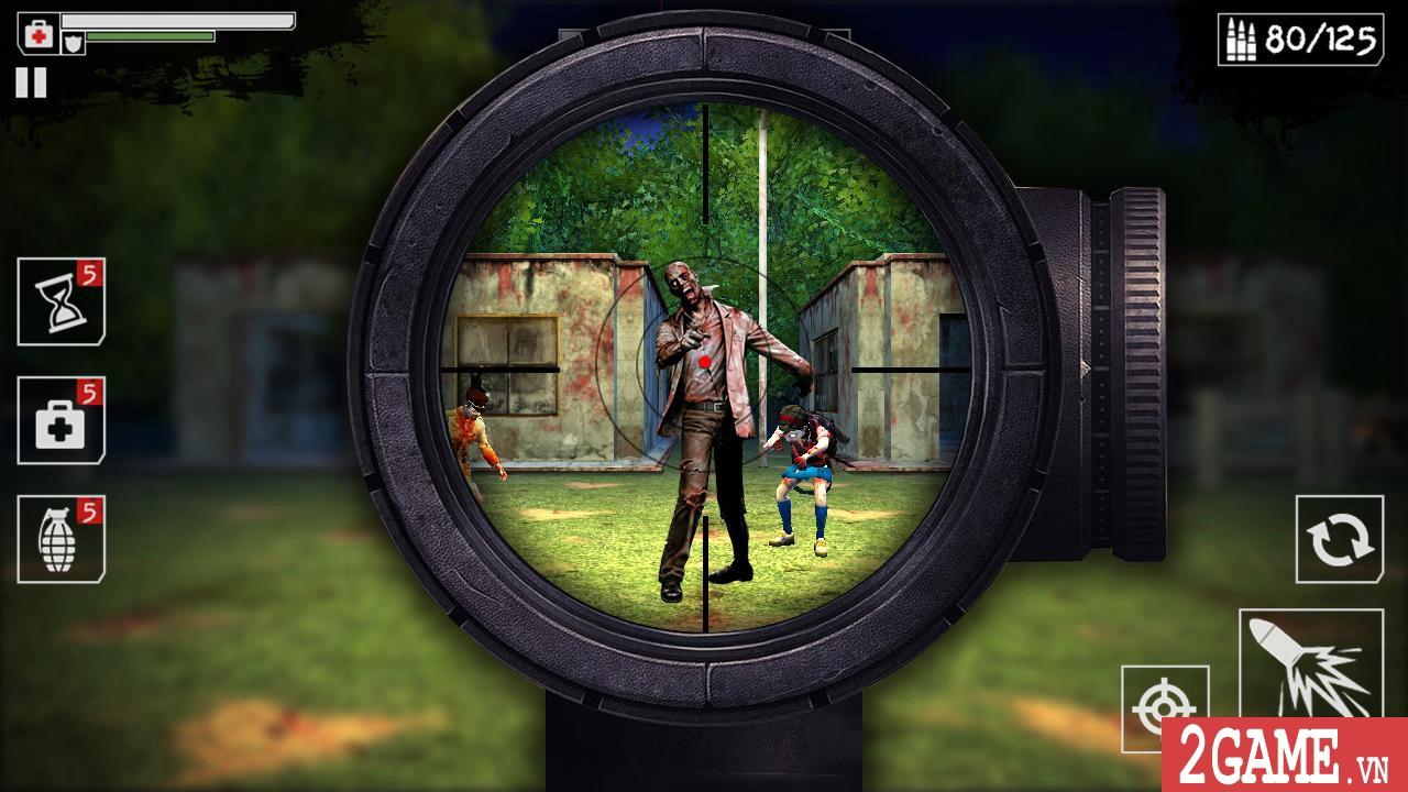 Dead Zombies – Game bắn thây cực kỳ kinh dị, nếu yếu tim đừng nên thử! 3