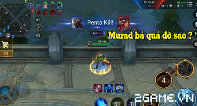 Liên Quân Mobile - Các mẹo dùng để áp chế sức mạnh của Murad 0