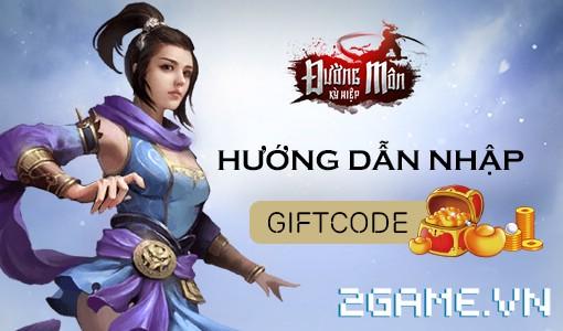 Đường Môn Kỳ Hiệp - Hướng dẫn nhập và nhận thưởng giftcode 0