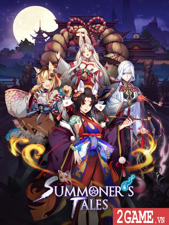 Summoner's Tales - Game nhập vai chiến thuật đậm vị Nhật Bản cổ xưa 0