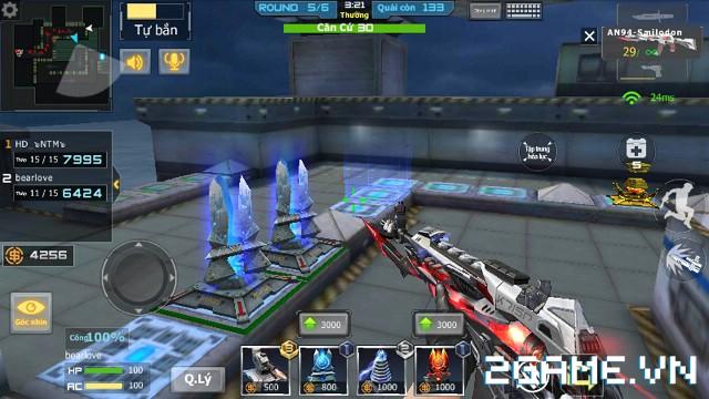 Crossfire Legends - 'Soi' những thay đổi trên bản đồ Căn cứ biển đen 2
