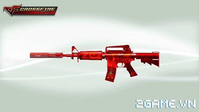 Crossfire Legends - Cửa hàng hôm nay: M4-Red Devil trở lại cửa hàng cùng bộ đôi hàng hiếm Thẻ Ghost & Đá thức tỉnh Inferno-Dragon 0