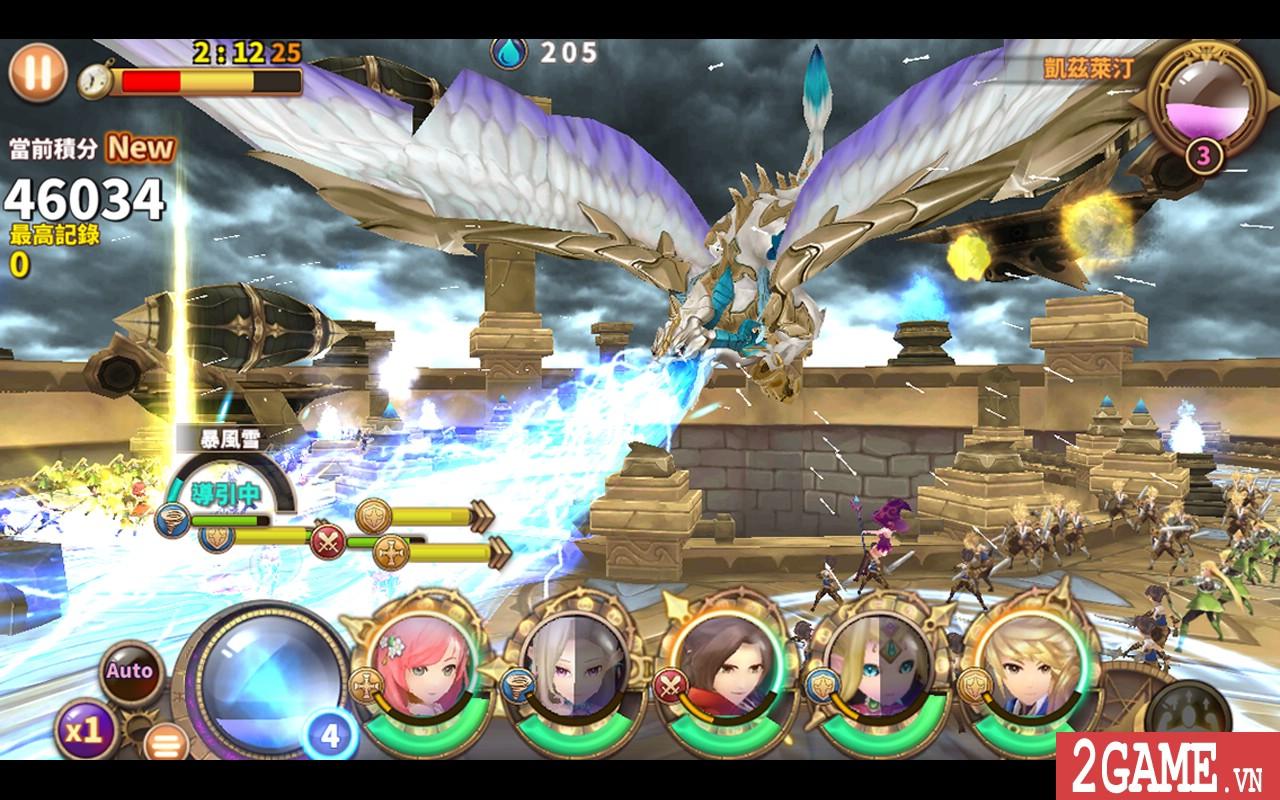 Diosa Force – Game nhập vai đấu thẻ tướng với đồ họa đậm chất anime Nhật Bản 0