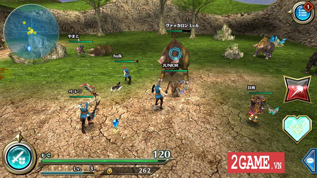 Dragon Project : Săn Rồng mobile - Game nhập vai hành động xứ Nhật cập bến Việt Nam 4