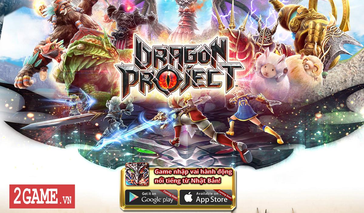 Dragon Project : Săn Rồng mobile - Game nhập vai hành động xứ Nhật cập bến Việt Nam 1