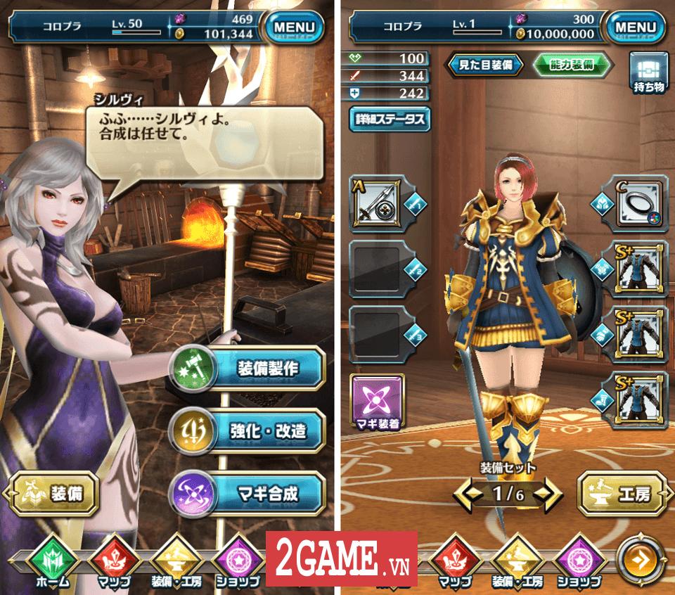 Dragon Project : Săn Rồng mobile - Game nhập vai hành động xứ Nhật cập bến Việt Nam 2
