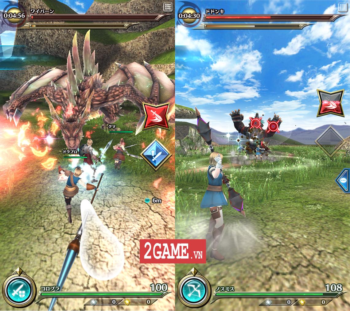 Dragon Project : Săn Rồng mobile - Game nhập vai hành động xứ Nhật cập bến Việt Nam 6