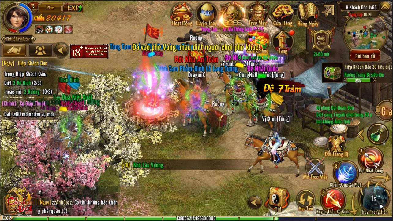 Hiệp khách đảo của Chinh Đồ 1 Mobile – chiến trường dành cho game thủ thích đối kháng 2