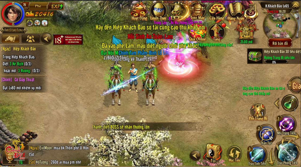 Hiệp khách đảo của Chinh Đồ 1 Mobile – chiến trường dành cho game thủ thích đối kháng 3