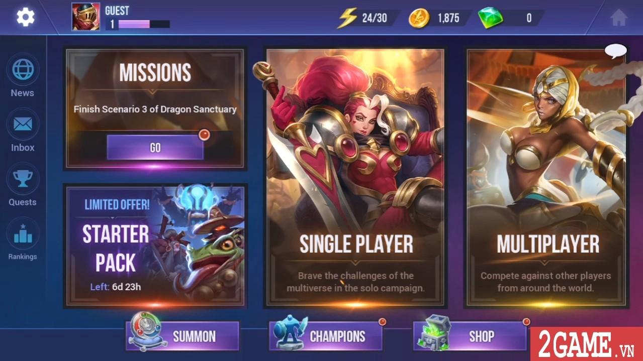 Dungeon Hunter Champions – Game nhập vai kết hợp MOBA đến từ ông lớn Gameloft 4