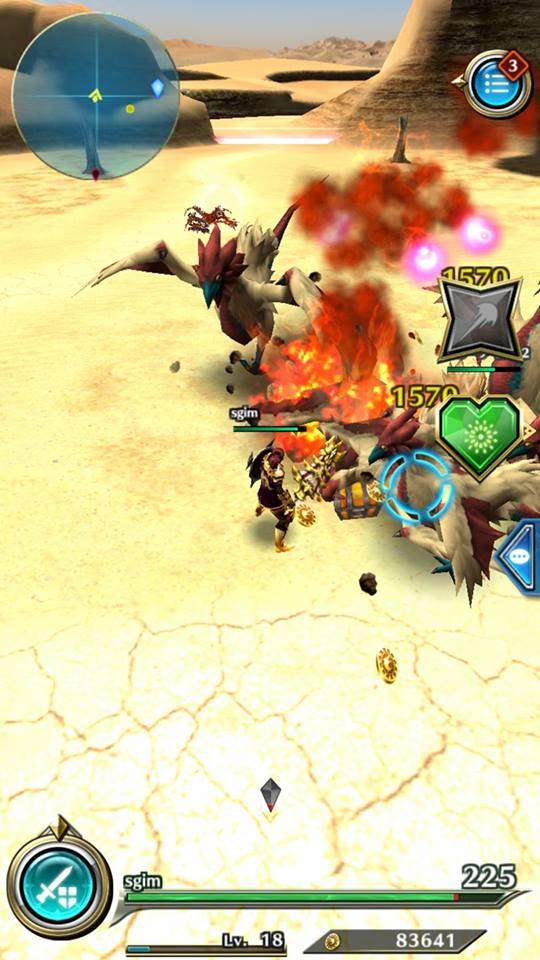 Đánh giá Dragon Project : Săn Rồng mobile - Game nhật chất lượng thật 7