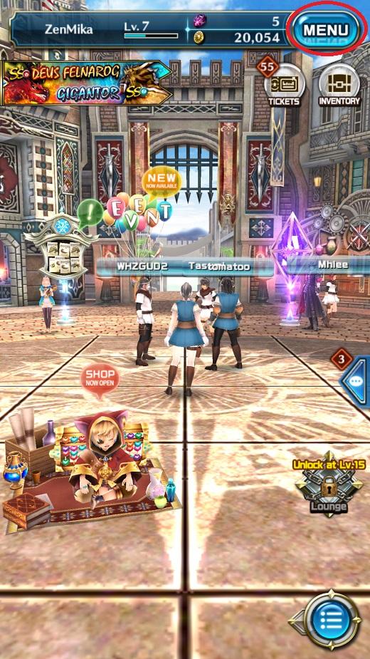 Dragon Project : Săn Rồng Mobile – Hướng dẫn xoay ngang màn hình 2
