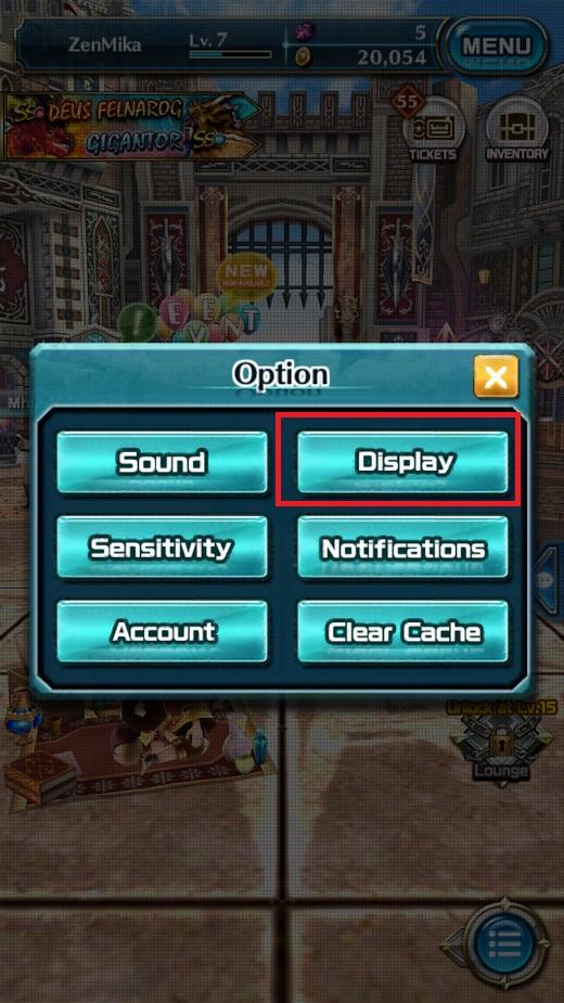 Dragon Project : Săn Rồng Mobile – Hướng dẫn xoay ngang màn hình 4